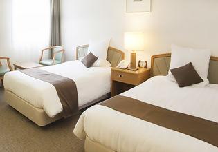 快適な客室設備が充実している、開放感のある全139室