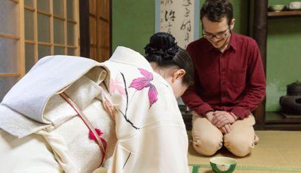 京都ならではのおもてなしができる